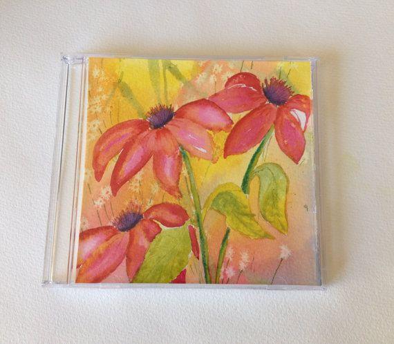 Tiny-Art-Box  3 flowers  Aidez-moi à donner par ManonJodoinStudio