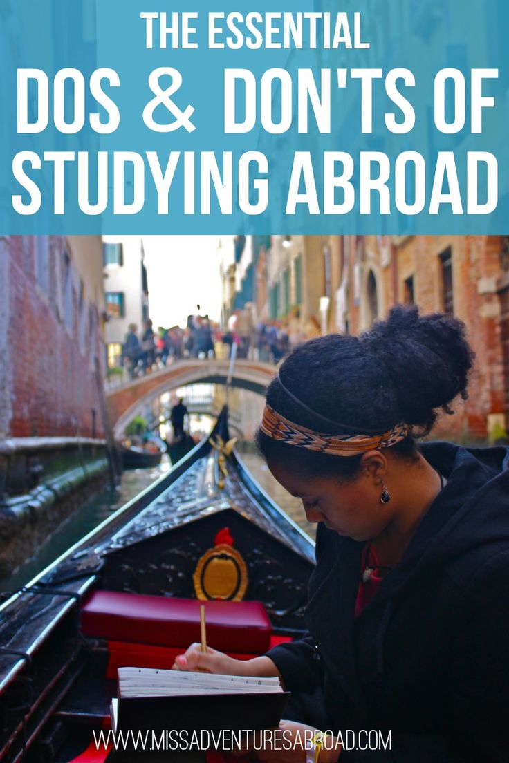 The Essential Dos and Don'ts of Studying Abroad | Miss Adventures Abroad