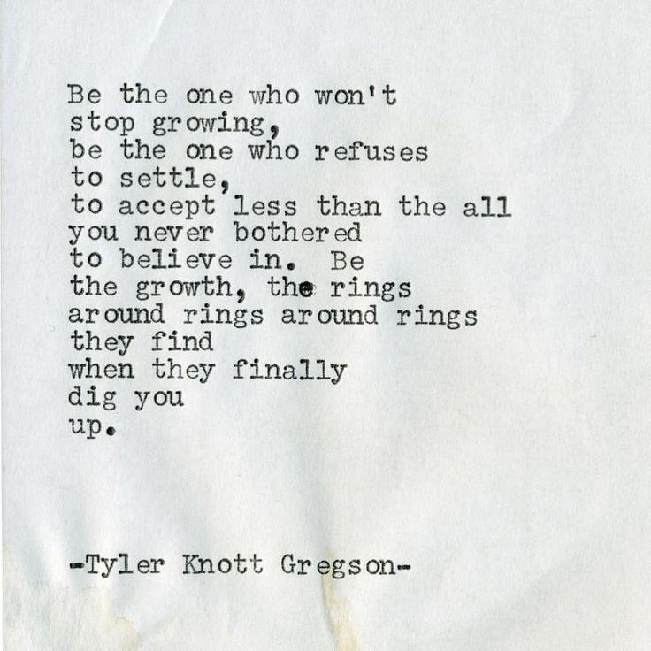 "Tyler Knott Gregson (@tylerknott) on Instagram: ""Typewriter Series #1922 by Tyler Knott Gregson"""