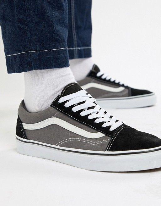 8f0b0c9e896 Vans Old Skool Sneakers In Gray VKW6HR0
