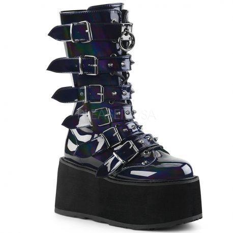 http://www.lenceriamericana.com/calzado-sexy-de-plataforma/40133-botas-goticas-de-plataforma-continua-demonia-efecto-holograma-y-6-correas.html