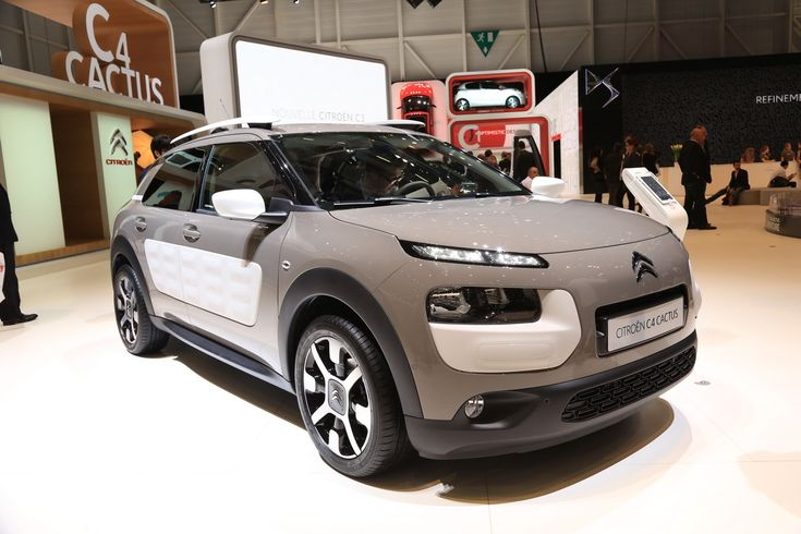 Photo du Citroën C4 Cactus au salon de Genève 2014