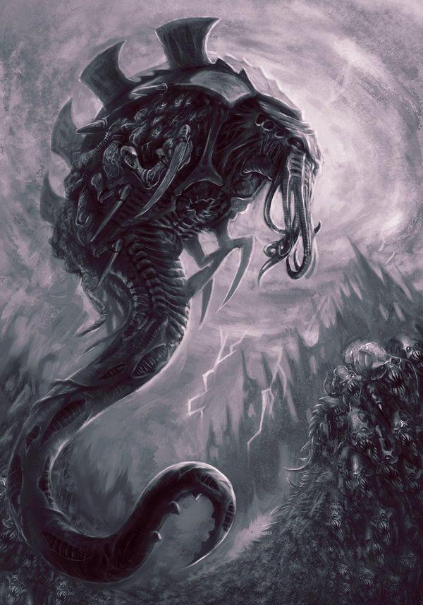 Malanthrope and Rippers - Warhammer 40K:Deathwatch by jubjubjedi.deviantart.com on @deviantART