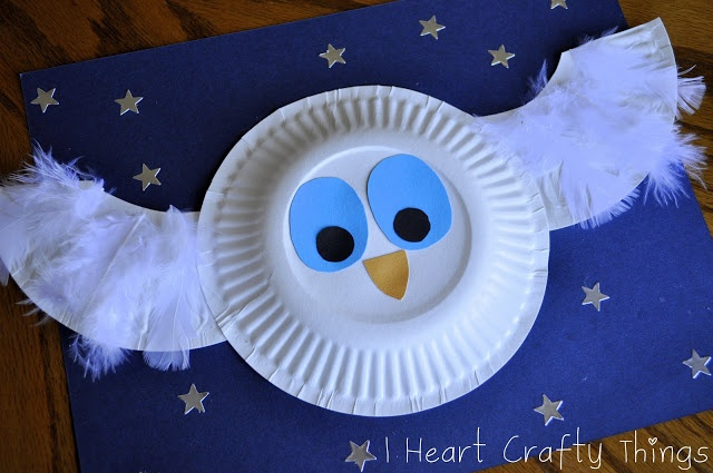 The Little White Owl Craft