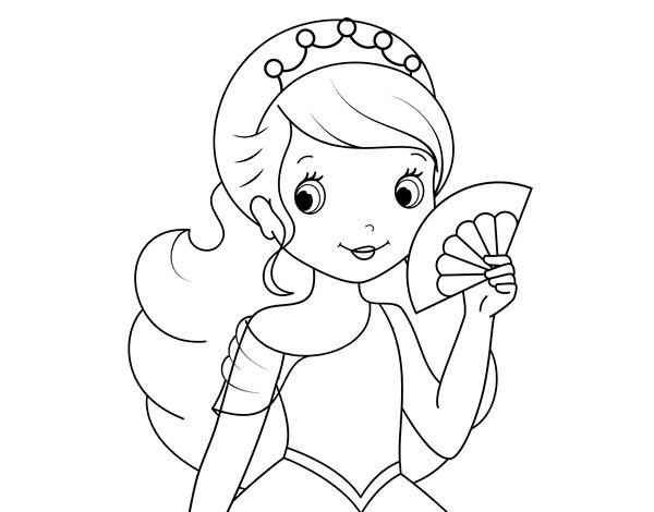21 Dibujos Para Colorear De Princesas Disney: 17 Best Images About Dibujos De Princesas Para Colorear On