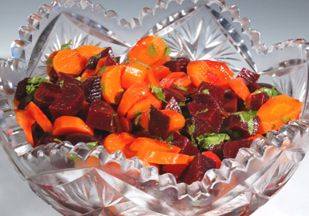 Moroccan Grated Carrot And Beet Salad Recipe — Dishmaps