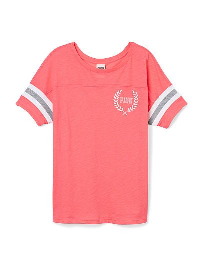 VS PINK Athletic tee-Candy Coral -looks so comfy!