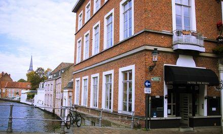 Canalview Hotel Ter Reien à Brugge : Escapade urbaine à Bruges: #BRUGGE 69.00€ au lieu de 119.00€ (42% de réduction)