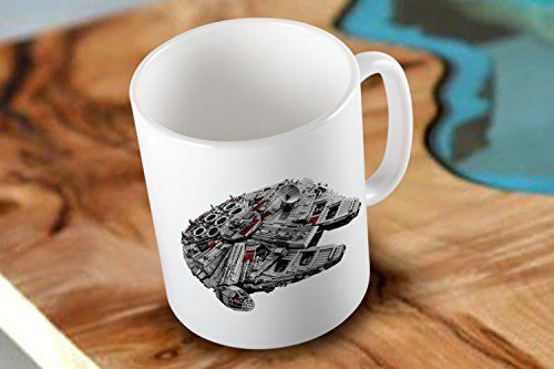 Millenium Falcon Star Wars The Force Awakens Two Side White Coffee Mug with Low Shipping Cost Mug http://www.amazon.com/dp/B019PZY5LA/ref=cm_sw_r_pi_dp_DB2Ewb1J502H8 #mug #coffeemug #printmug #customMug #mug #starwars #rebels #theforceawekens #millenniumfalcon