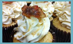 French toast cupcakes from Flavor Cupcakery