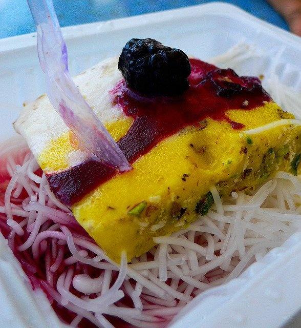 Iranian food : Faloode Bastani