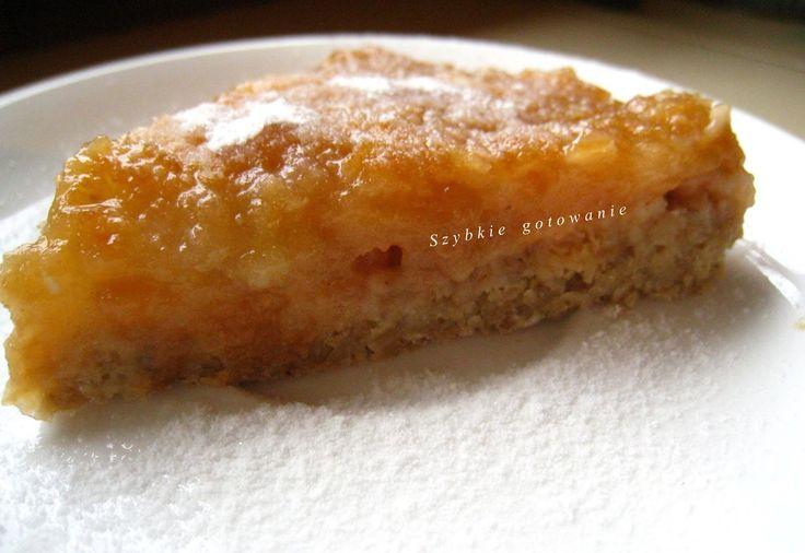 Dietetyczna tarta jabłkowa bez mąki i cukru