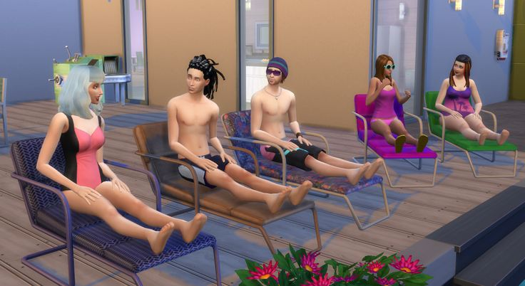 Mod The Sims - Functional Lounge Chair