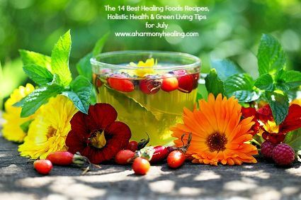 Welcome to the first of my new series of monthly posts featuring my favorite healing foods recipes, holistic health information, green living tips, essential kitchen tools and books, and anything else I discover that may be useful to help you on your journey to vibrant health and wellness. Click on the highlighted links to see any of the recipes, a