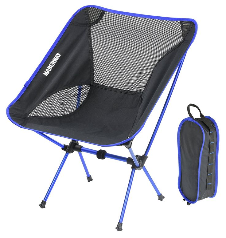 MARCHWAY Portable Folding Ultralight Compact Camping Chair