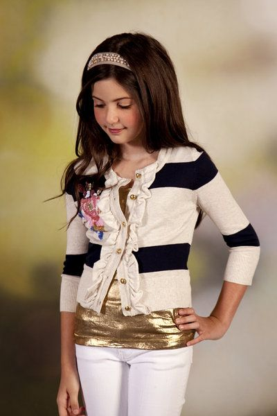 The Giggle Guide™ - Charlotte Tarantola's Fashion Web Attracts Tweens