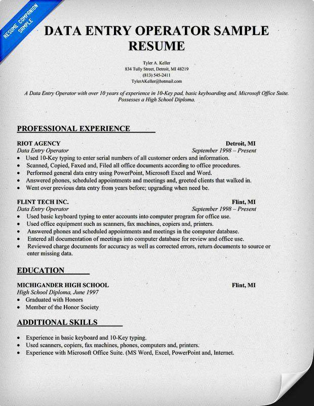 Data Entry Resume Objective Beautiful Data Entry And Surveyor Resume Attributes Resume Template In 2020 Job Resume Samples Resume Objective Sample Resume