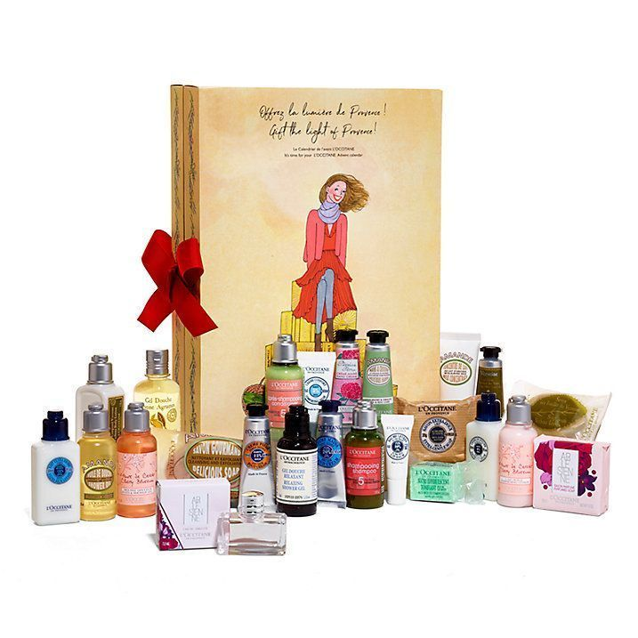 L'Occitane beauty advent calendar The who's who of the beauty world is pulling out all the stops with their beauty advent calendars, vying for the crown of best countdown to Christmas. #haircareadventcalendar,