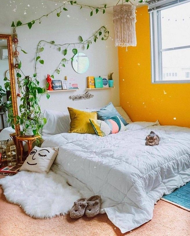 Room Ideas Tumblr Aesthetic Yellow 11 Www Tasisatap Com Bedroom Design Bedroom Decor Trendy Bedroom