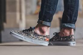 Authentic Vans on feet.