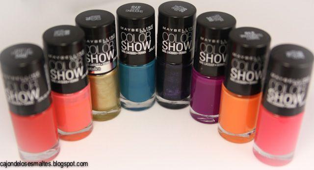 Breve reseña - Esmaltes Maybelline Color Show