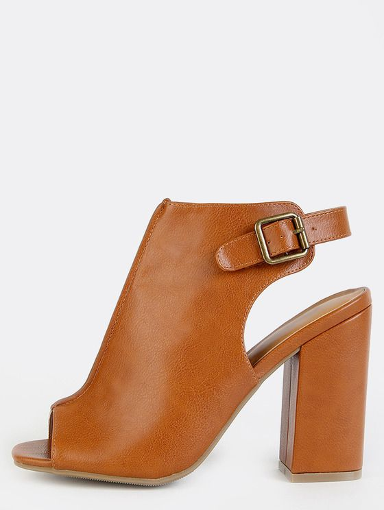 Amazing Online shopping for Stitched Peep Toe Ankle Booties WHISKY from a great selection of women us fashion