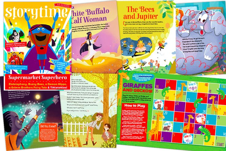 Some of the gorgeous children's stories and illustrations in our newest issue: Storytime 34! Get it today from STORYTIMEMAGAZINE.COM/SHOP