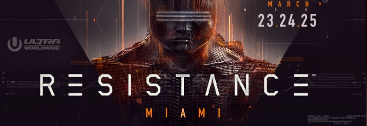 Ultra Music Festival will return to Miami's Bayfront Park for its 20th outing from 23rd to 25th March 2018 and brings with it the incredible RESISTANCE house and techno concept.