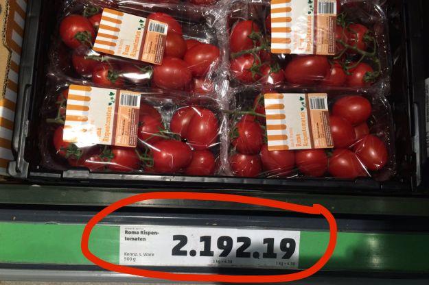 Dieses Angebot und sein sensationeller Preis.   29 Supermarkt-Angebote, die 2016 definitv zu weit gegangen sind