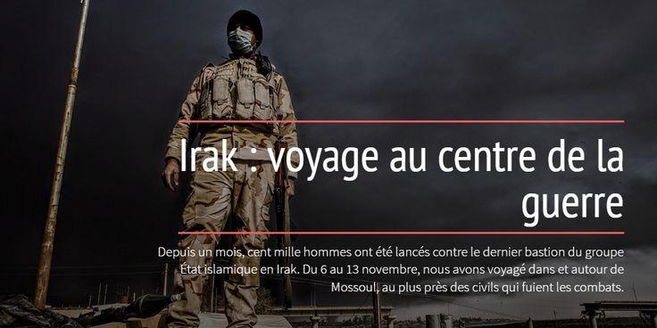 Irak : voyage au centre de la guerre https://spark.adobe.com/page/ajXlDJp9GRM5N/