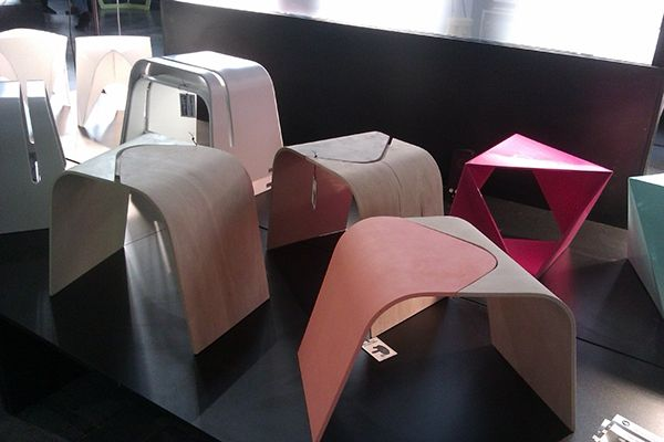 Workshop stools on Behance