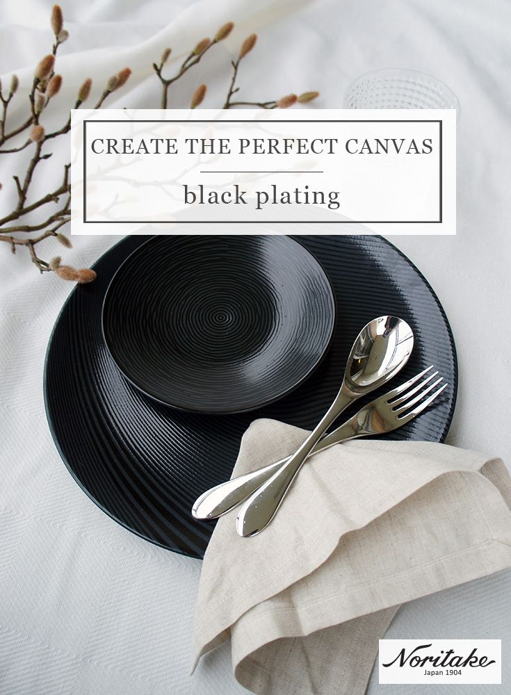 Basic blacks will create the perfect canvas for your food. Unleash your creativity and frame your food with Noritake Colorwave Graphite