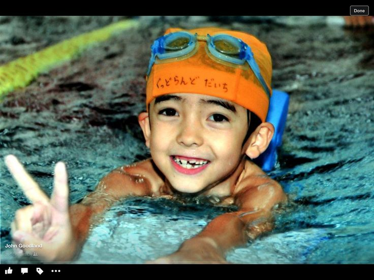 Daichi swimming 2014