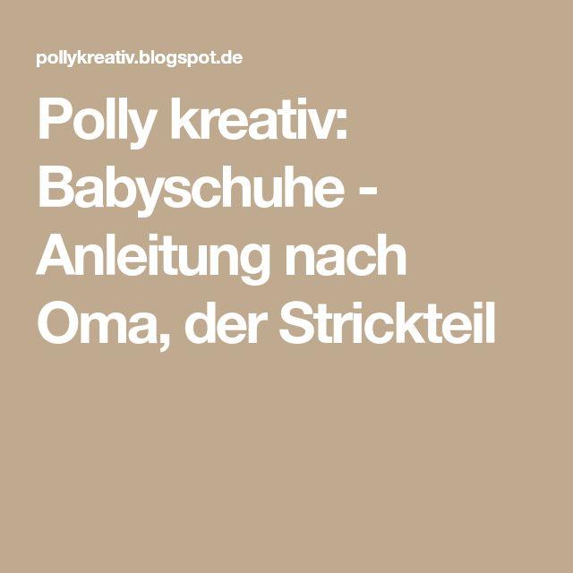 10 besten BabyHandarbeiten Bilder auf Pinterest | Gestricktes baby ...