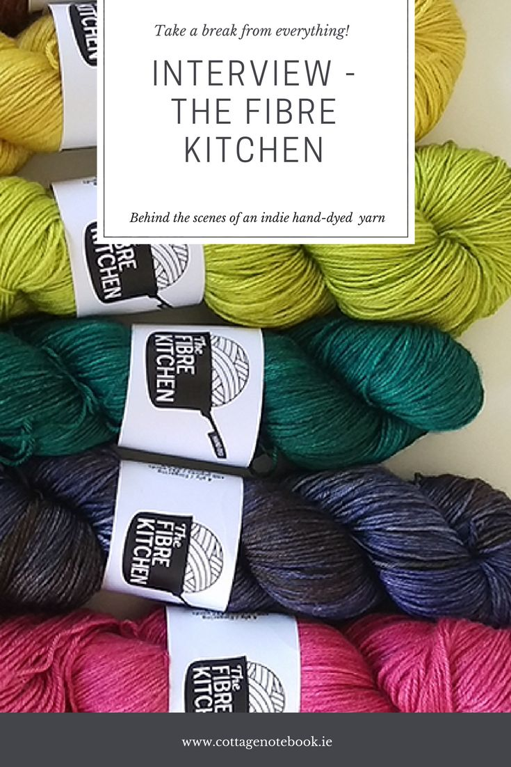 As part of the craft section of the Notebook, I get to chat with dyers and designers that make up this amazing community of independents making their mark on the Irish craft scene. Recently I got a chance to catch up with Rachel of The Fibre Kitchen.