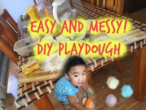 DIY Playdough | tobringtogether