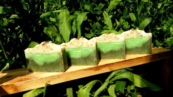 Lime-menta szappan