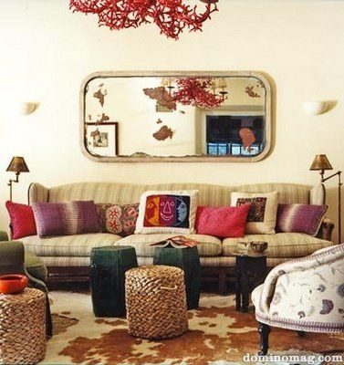 34 best images about peter dunham on pinterest - Boho chic living room decorating ideas ...