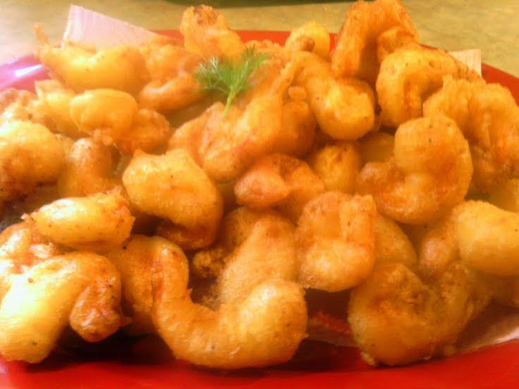 """beer batter shrimp! """"Texas gulf coast shrimp."""" @allthecooks #recipe..."""
