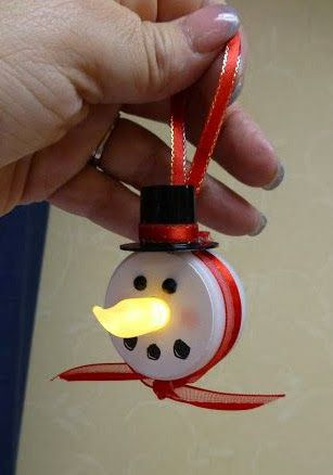 The Urban Scrapbook inc.: A FUN KIDS CRAFT FOR CHRISTMAS - Cute, but I would paint the nose orange so it looks like a carrot - kmm