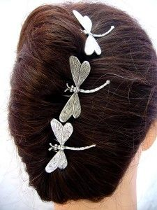 Book: Hair: Dragonflies are the message of my book! I now collect them, and this would be wonderful in my hair! http://bluedragonflies.net/my-collection-of-dragonflies-6