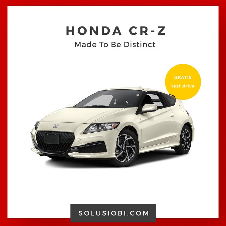 Mobil Honda CR-Z  Honda CR-V dirancang dengan desain bodi yang agresif, memberikan keseimbangan ketika berakselerasi dengan handling yang mantap dan tetap memberikan kenyamanan ketika . . .