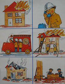 Dat brandweerman of -vrouw geen gemakkelijk beroep is, werd ons al vlug duidelijk ! De afgelopen weken kregen we bezoek van de brandweerva...