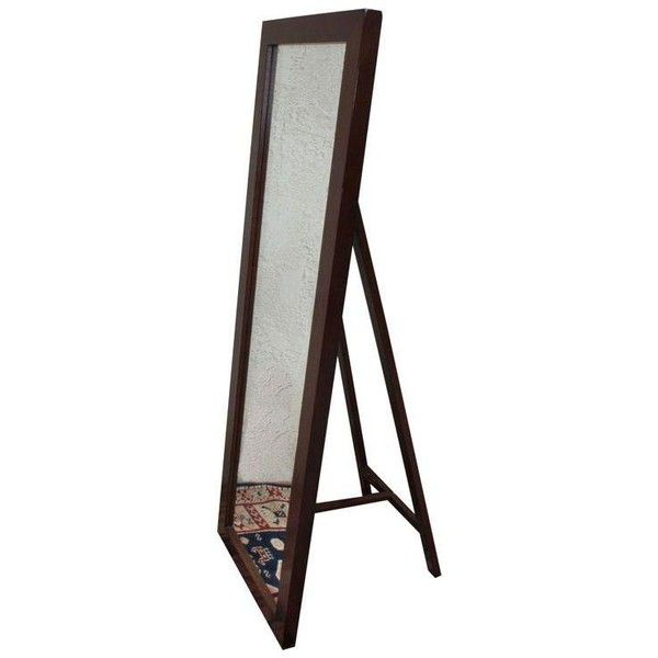 Pottery Barn Stinson Floor Mirror With Easel Back 950 Dkk Liked On Polyvore Featuring Home Home Deco Freestanding Mirrors Floor Mirror Pottery Barn Mirror