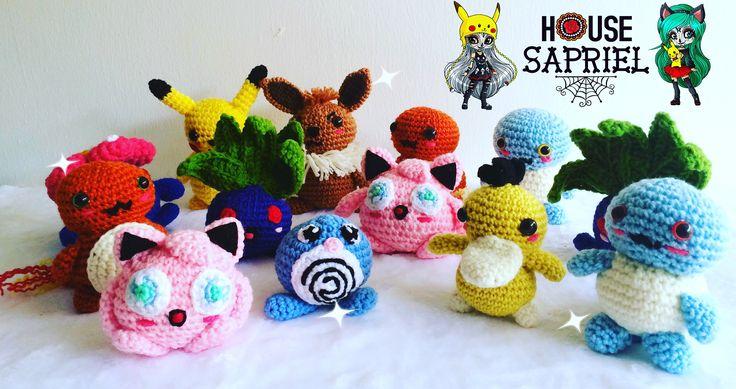 design by @housesapriel #amigurumis #pokemon #pokemongo #kawaii #kawaiigirl