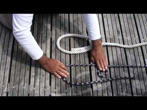 Nudos marineros para el PER | Escuela Náutica de Navarra - YouTube