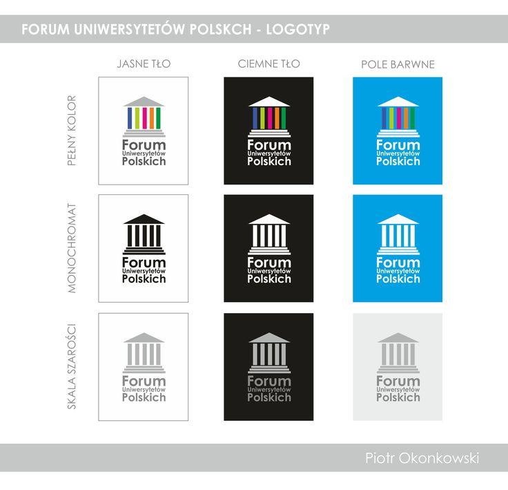 Forum of Polish Universities - logotype concept