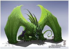 Hulk Dragon! by LyntonLevengood