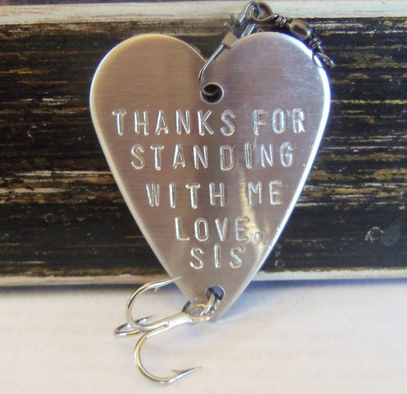 Big Brother  Brother of the Bride  Wedding by CandTCustomLures, $19.00