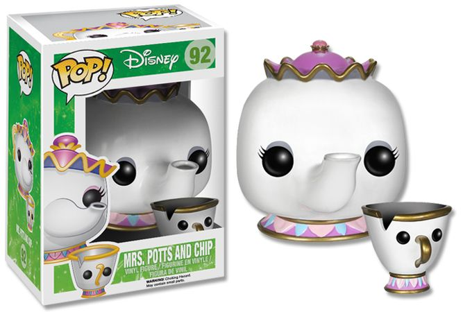 Beauty and the Beast - Mrs. Potts and Chip Pop! Vinyl - EB Games Australia
